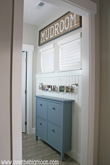 Hemnes Cabinet Diy Ikea Mudroom - Over The Big Moon