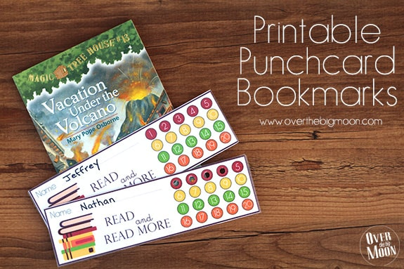 printable-punchcard-bookmarks - Over The Big Moon