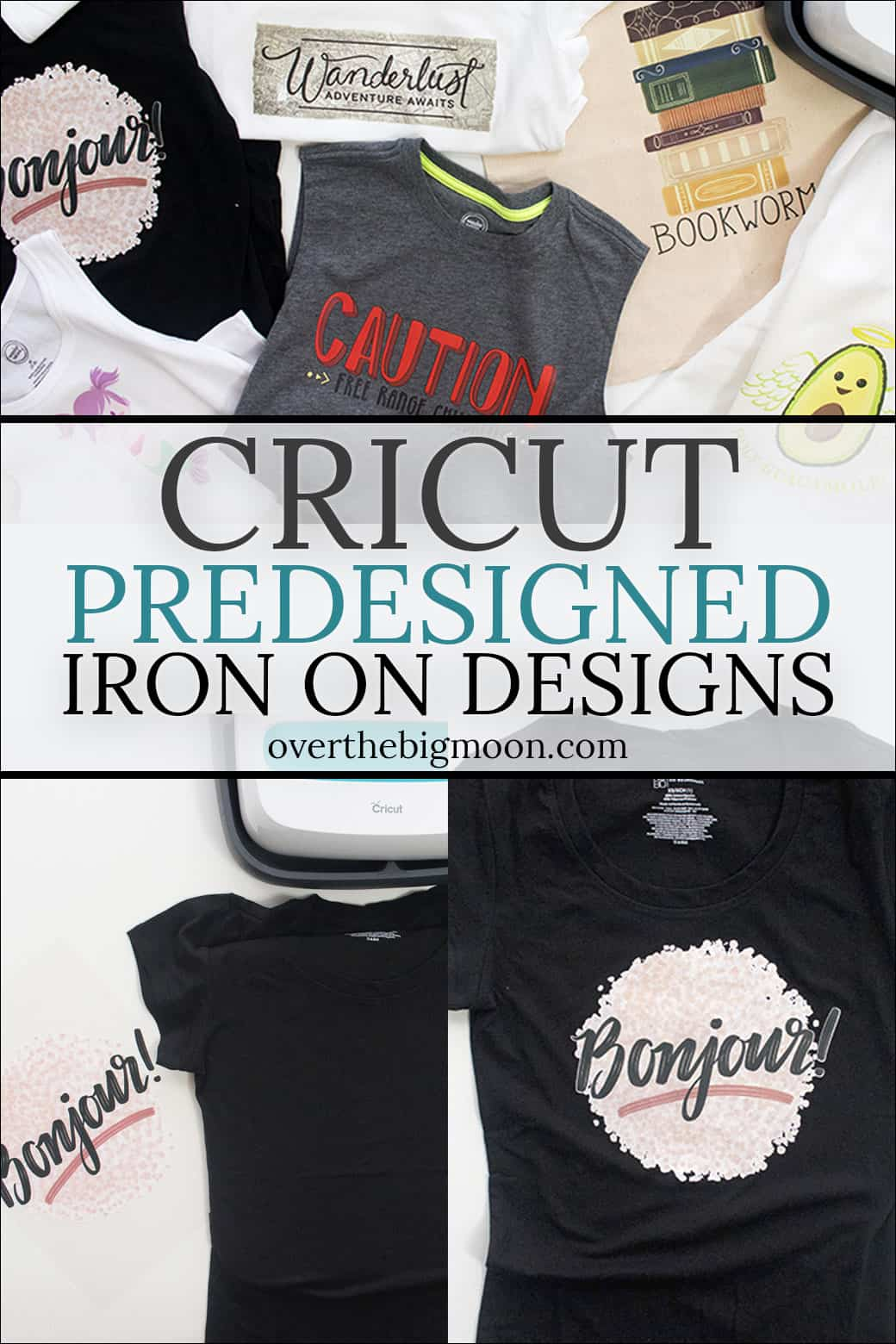 Iron On How To Apply Cricut Iron On Designs Over The Big Moon