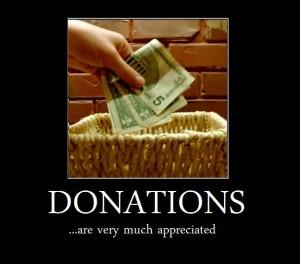 Donations, Bill White