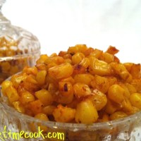 Barbecue Flavored Roasted Corn Kernels: a Healthy Snack
