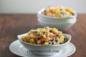 Black Bean, Corn and Mango Quinoa Salad