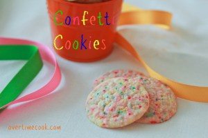 Confetti Cookies on Overtime Cook