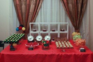 Primary Colored Dessert Table for Charity Event