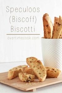 Speculoos (Biscoff) Biscotti
