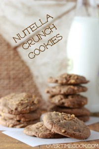 Nutella Crunch Cookies on OvertimeCook.jpg