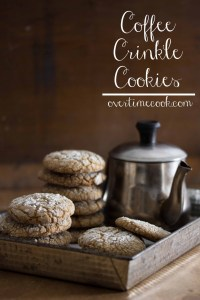 coffee crinkle cookies on OvertimeCook.jpg