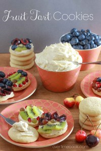 Fruit Tart Cookies and Top Ten Fruity Recipes!