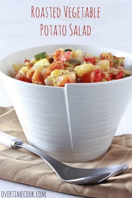 Roasted Vegetable Potato Salad