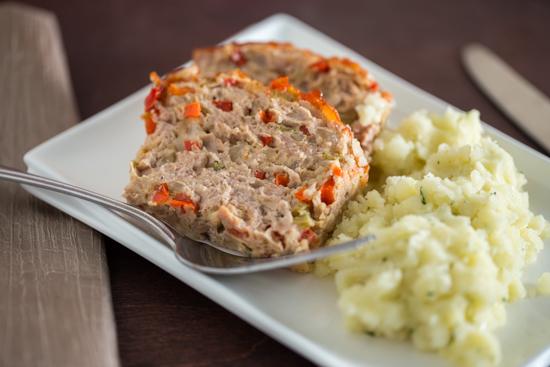 Turkey Veggie Meatloaf LR