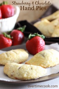 Strawberry Chocolate Hand Pies