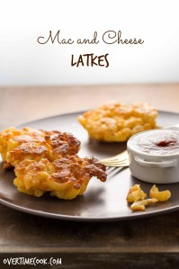 Mac and Cheese Latkes and a Chanukah Blog Party and Double Giveaway!