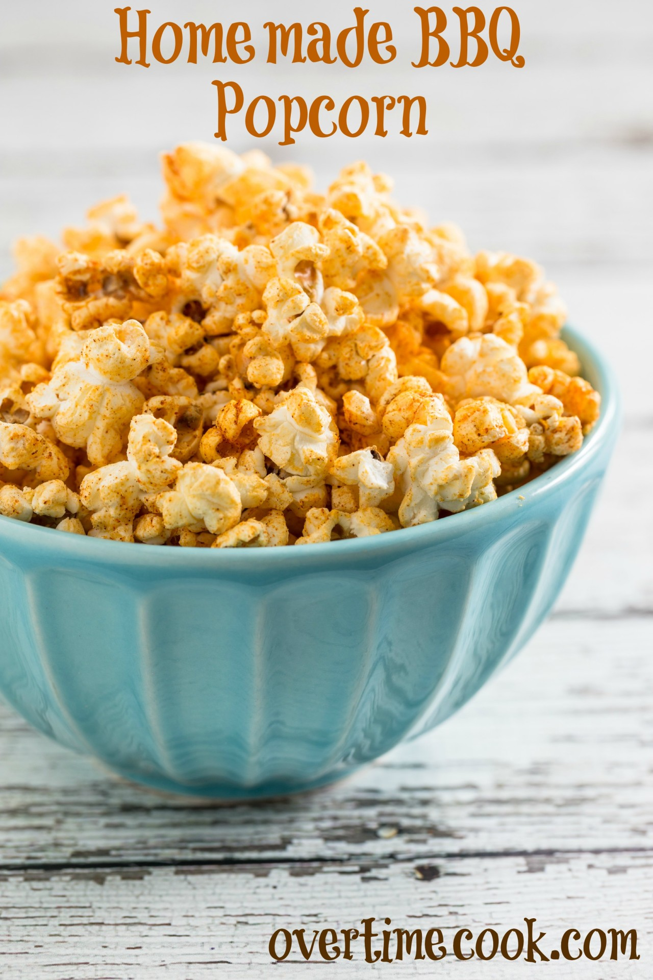 Homemade Barbecue Popcorn takes just minutes to make and tastes so ...