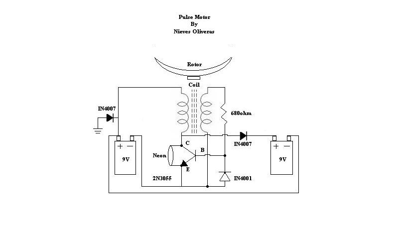 re are tommey reeds pulse motor circuits overunity