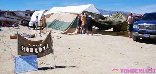 Camp Nomadia - Burning Man 2010