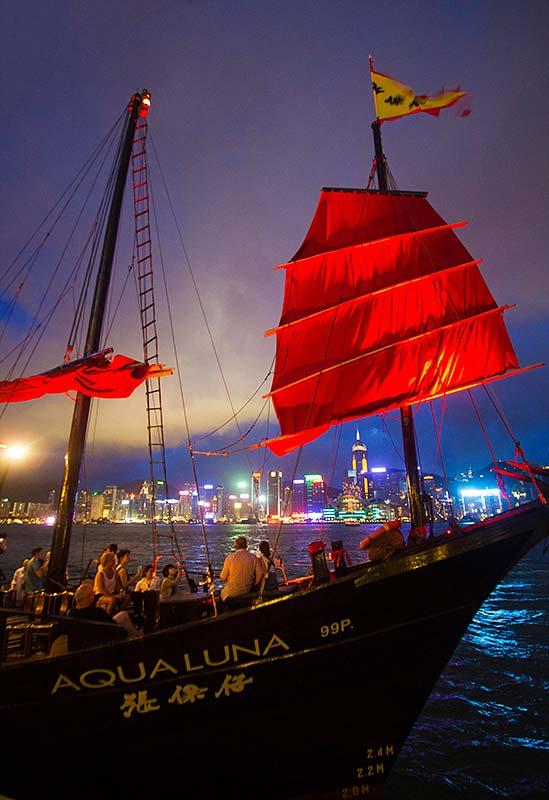 Views from Hong Kong Harbor