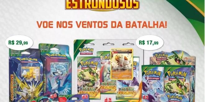 Pokémon XY6 Céus Estrondosos chega em agosto - Aproveite a pré ...