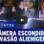 Invasão alienígena na 'Câmera Escondida do Sílvio Santo'
