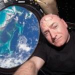 Teria o astronauta Scott Kelly admitido ter visto alienígenas no espaço?