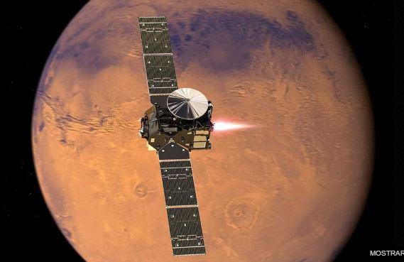 Sonda europeia pousa em Marte
