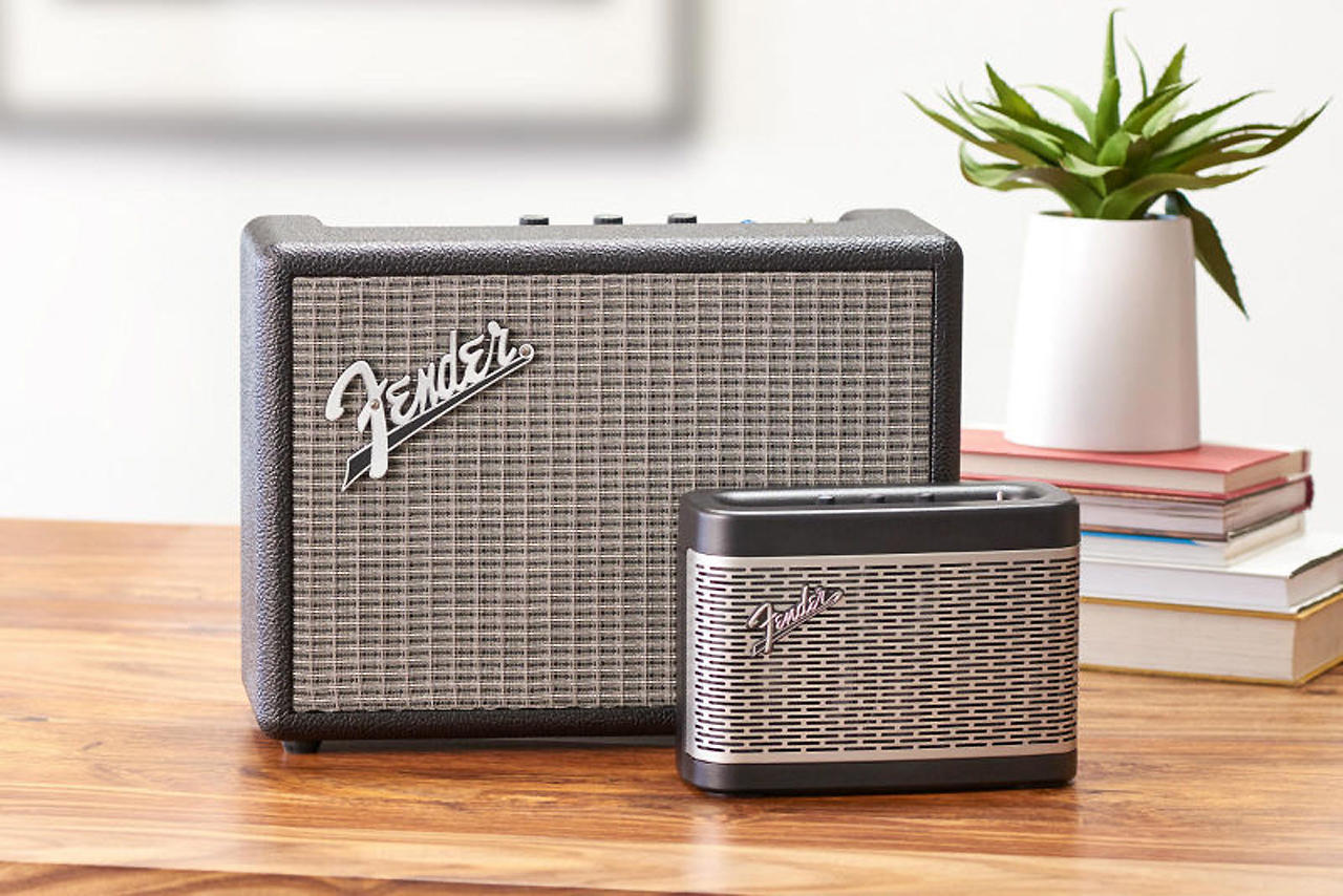 Kitchen Speaker Fender Presentó Sus Primeros Parlantes Bluetooth Monterey