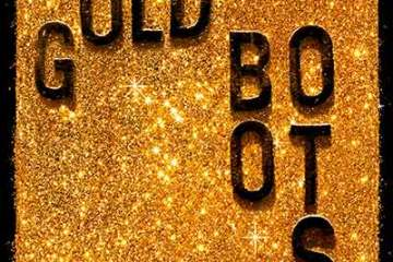 Wheeler-Brothers-Gold-Boots-Glitter