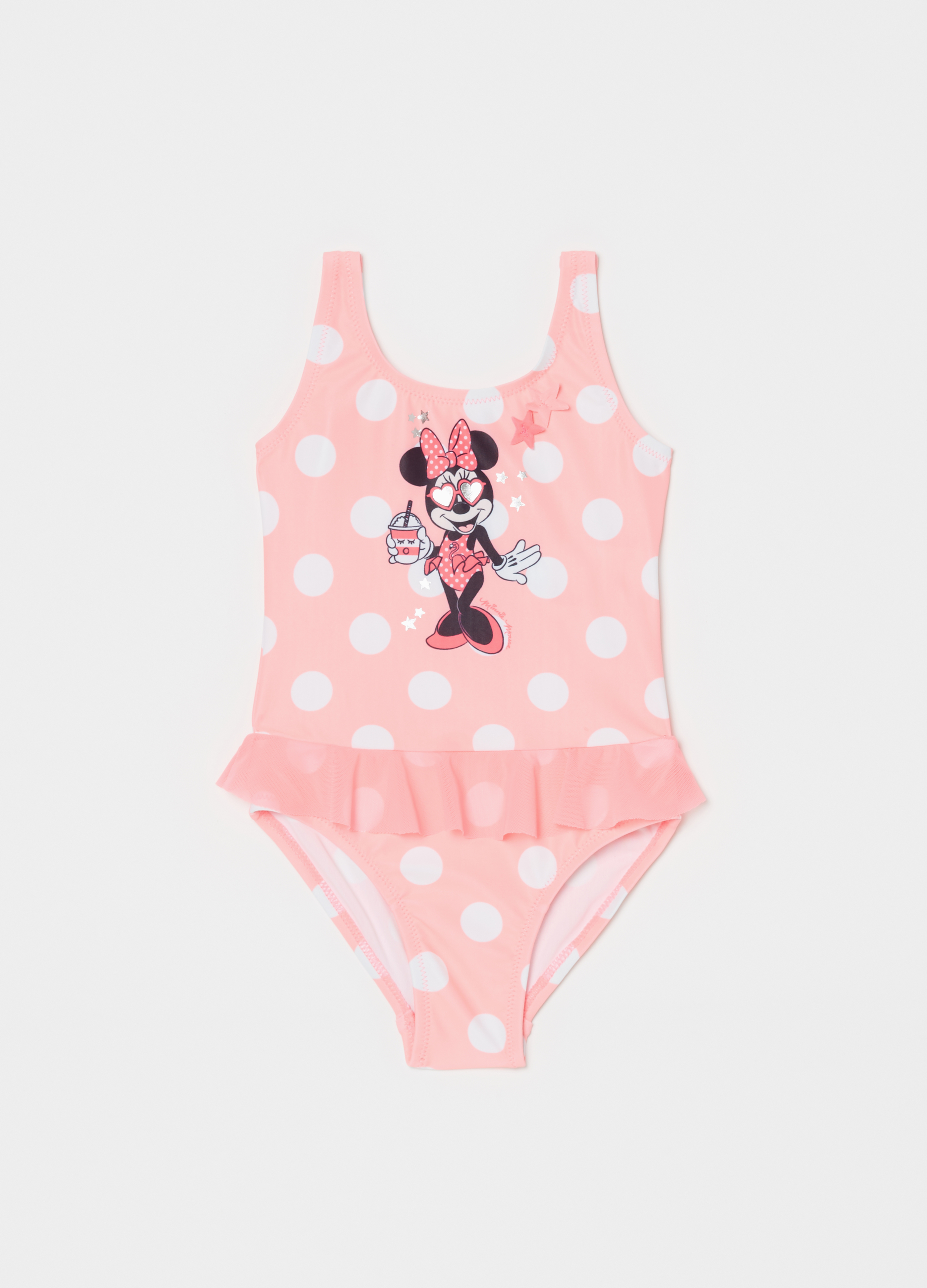 Babyone Baby Jogger Disney Baby One Piece Swimsuit With Polka Dot Print