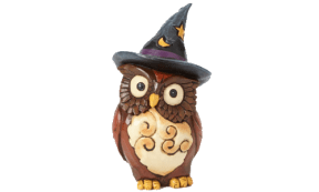 Jim Shore Heartwood Creek Halloween Owl Witch.500