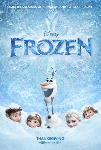 frozen movie poster - Out With The Kids