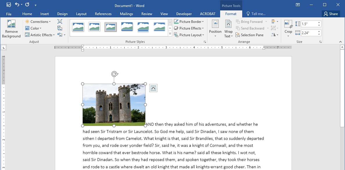 Fighting images in Microsoft Word OXEN Technology - microsoft word