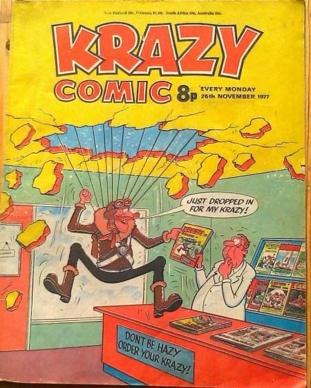 Krazy Comics Feline