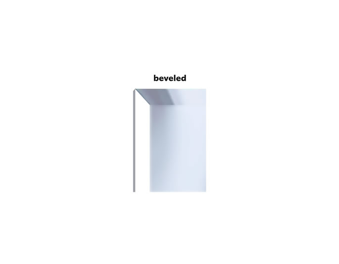 Beveled Mirror Meaning Beveled Adjective Definition Pictures Pronunciation
