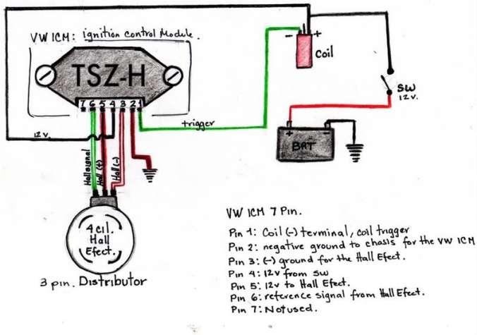 vw golf distributor wiring