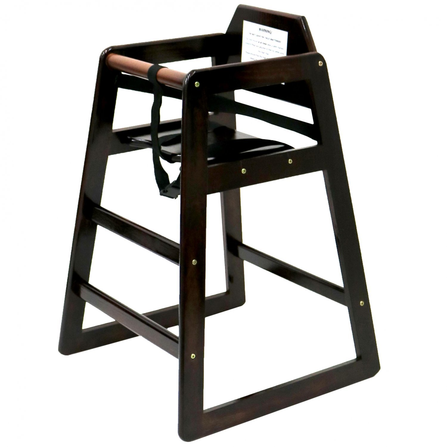 Kids Wooden Chair Kids Wooden High Chair Dark Brown 24 99 Oypla