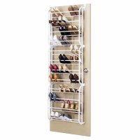 Door Hanging Shoe Rack White - 36 Pair - 12.99 : Oypla ...