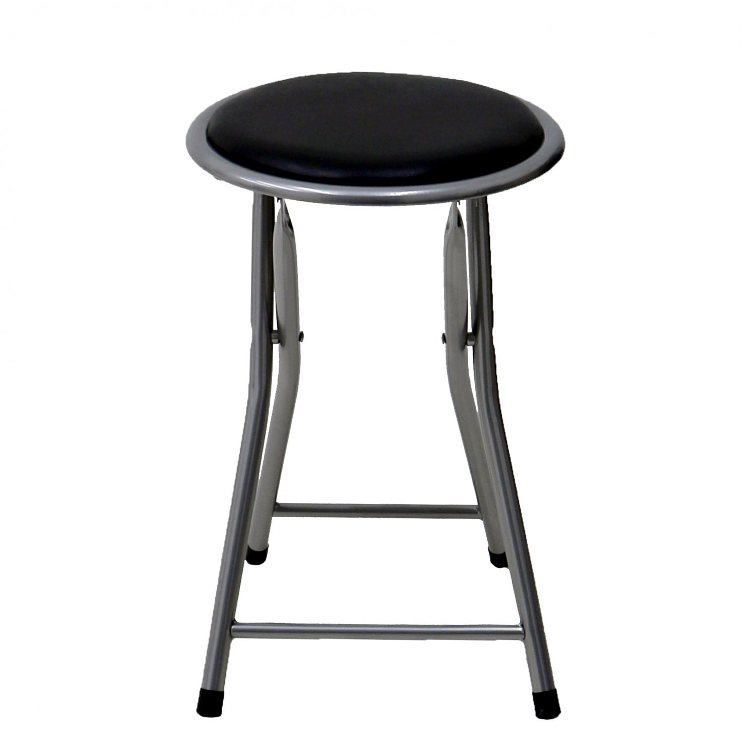 Padded Stool Black Padded Folding Breakfast Kitchen Bar Stool Seat 9