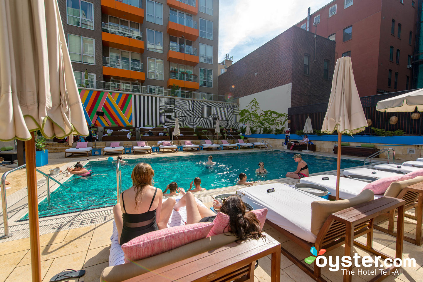 Außenpool Verputzen Mccarren Hotel Pool Review Updated Rates Oct 2019