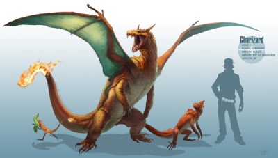 Realistic Pokemon Charizard