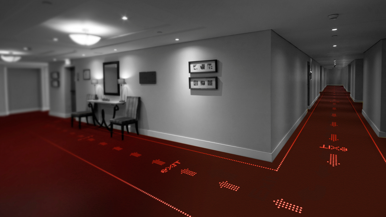 Led Carpet Lights The Way To Informative Flooring Ign - Led Teppich