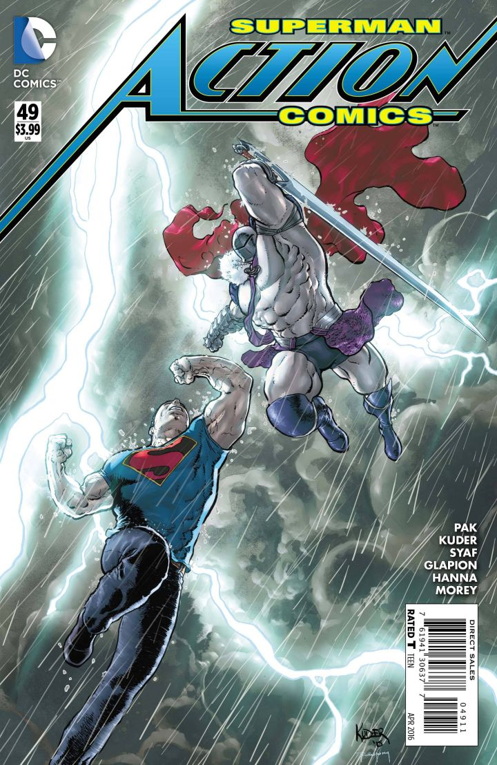 Dc Comics Power Girl Wallpaper Superman Gains Another New Power In Action Comics 49 Ign