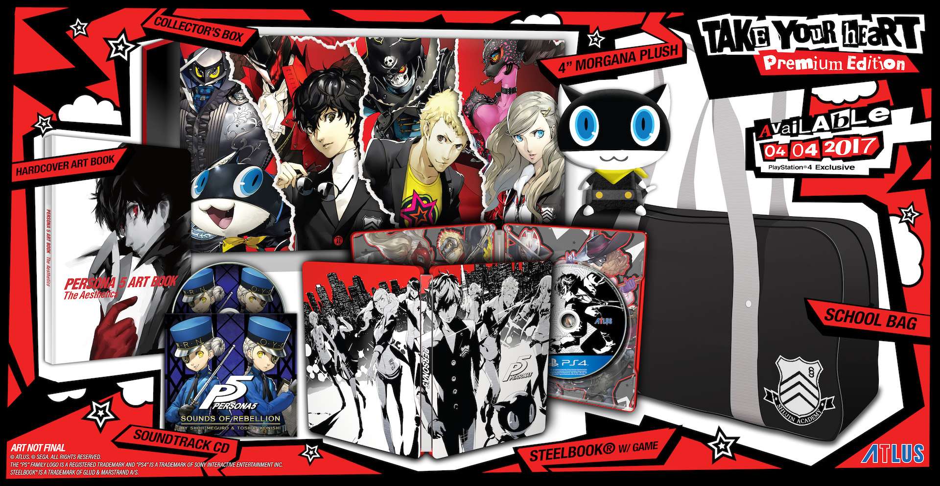 Arte Final English Persona 5 Release Date Delayed To April Ign