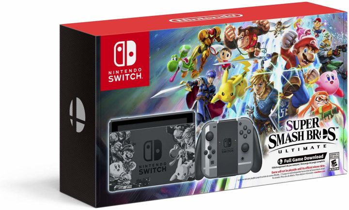 Super Smash Bros GameCube Controller, Pro Controller, and
