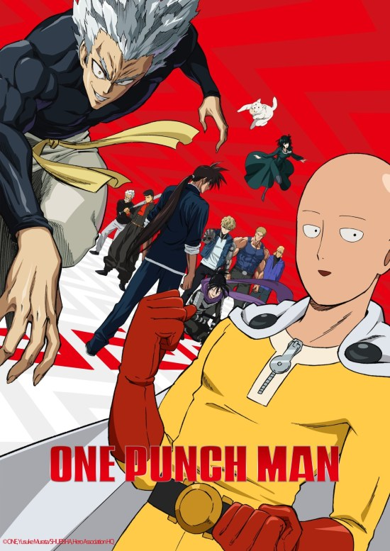 one punch man season 2 poster