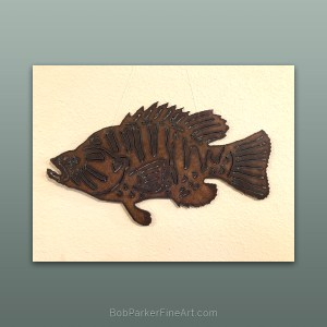 Ozarks Art Gallery | Original Metal Art by Bob Parker Metal Art Design -1843
