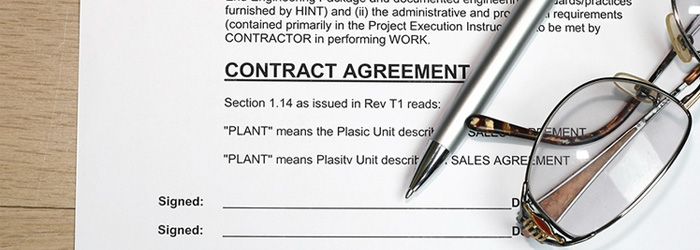 Contract Law - writing contract agreements