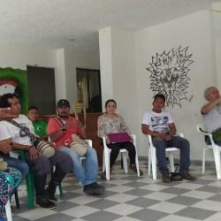 en la ozip se reunieron los representantes de la OZIP, ITP, Forest Trends, WWF Y OPIAC, en conjunto con los participantes elegidos por sus comunidades para dar inicio al programa de formacion en gobernanza territotrial indigena (PFGTI).