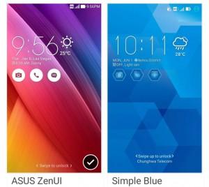 【Zenfone 2とZenfone 2 Laserのテーマ設定方法】自分好みにアイコンや全体の雰囲気を変更できる!