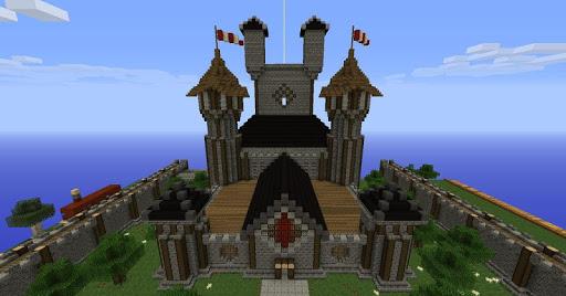 Cm Launcher 3d Wallpaper Apk Download Epic Minecraft Castle Building Screenshots Apk4fun