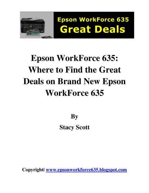 Medium Of Epson Workforce 635