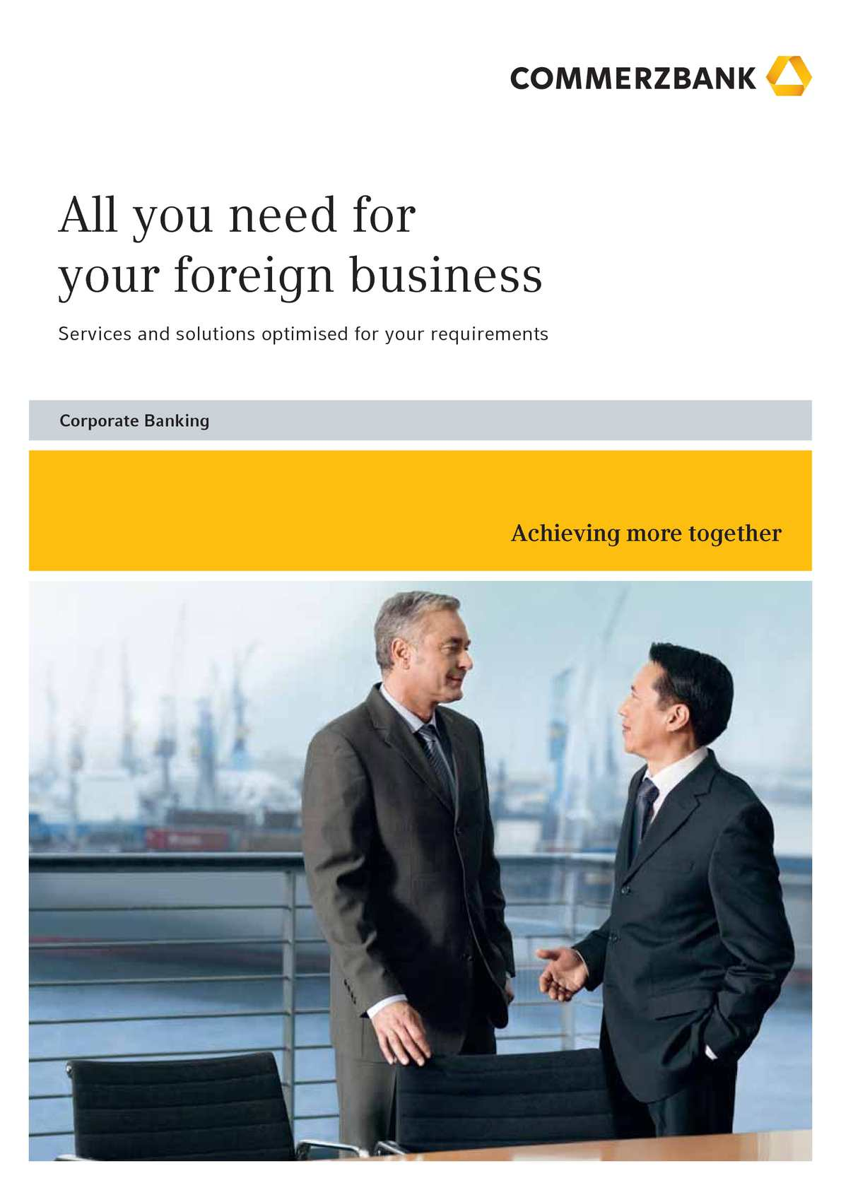 Cash Pool Commerzbank Calaméo Commerzbank All You Need For Your Foreign Business